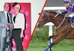 Milyonluk yarış atlarına boşanma tedbiri