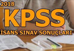 2018 KPSS lisans sınav sonuçlarının açıklanma tarihi belli oldu