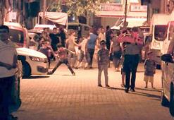 İstanbulda spreyli saldırgan paniği Mahalleli sokağa döküldü