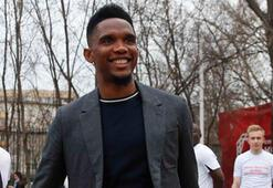 Samuel Etoo resmen Qatar Sports Clubde