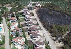 Mudanyadaki villaların çevresine çabuk tutuşmayan ağaçlar dikilecek