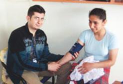 İlköğretim öğrencilerinin sağlık durumuna bakıldı