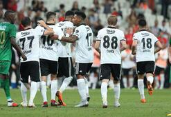 Beşiktaş - Akhisarspor: 2-1 (İşte maçın özeti)