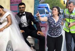 Aydında son dakika feci olay Evlendikleri günün sabahına çıkamadılar
