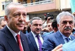 Cumhurbaşkanı Erdoğan Rizede kafede vatandaşlarla sohbet etti