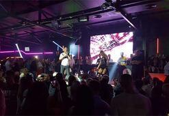 Kosovada Serdar Ortaç konseri