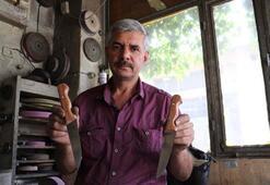 El yapımı Sivas bıçağına bayram öncesi yoğun talep
