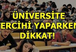YKS üniversite tercihlerinde bunlara dikkat