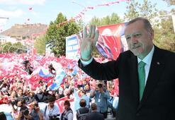 Erdoğan, en çok oy aldığı Bayburt'a teşekkür etti: Türkiye'ye oynanan oyunları gördünüz