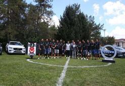 Beşiktaşa araç desteği