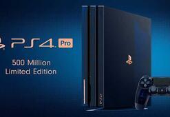 PlayStation 4 Pro 500 milyon özel sürüm konsol duyuruldu
