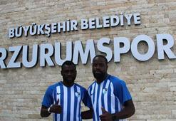 Büyükşehir Belediye Erzurumsporda çifte imza