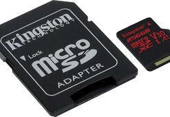 Kingston yeni 256 GB'lık microSD kartını duyurdu