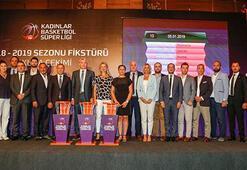 Kadınlar Basketbol Süper Liginde fikstür çekildi