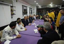 Cumhurbaşkanı Yardımcısı Oktay yaralanan vatandaşları ziyaret etti