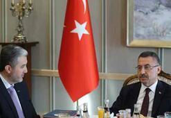 Cumhurbaşkanı Yardımcısı Oktay, MÜSİAD Başkanını kabul etti