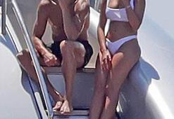 Ronaldo sevgilisiyle böyle görüntülendi