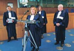 AİHM'nin yeni Türk yargıcı göreve başladı