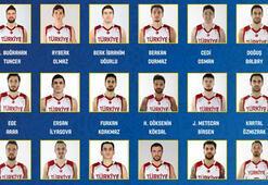 A Milli Erkek Basketbol Takımının aday kadrosu açıklandı