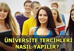 YKS tercihleri başladı Üniversite tercihi nasıl yapılır
