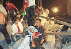 Deprem Çin'i yıktı
