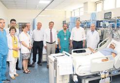 Bağışlanan karaciğer iki hastaya can oldu