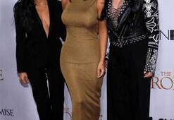 Kim Kardashian ile Kourtney Kardashian kavga etti