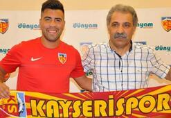 Kayserisporda Gonzalo Espinoza ile yollar ayrıldı
