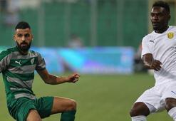 Bursaspor-MKE Ankaragücü: 0-2