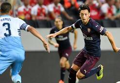 Arsenal, Lazioyu yıktı Mesuta büyük destek