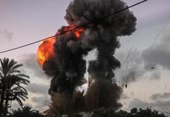 İsrailden Gazzeye ikinci hava saldırısı
