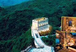 Çin Seddi'nde bir göz oda