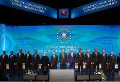 Cumhurbaşkanlığı Kabinesinin ilk 100 günlük hedefi kamuoyuyla paylaşıldı