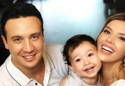 Hatice Şendilden mutlu aile pozu