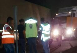 Kızıltepe'de zincirleme tır kazası