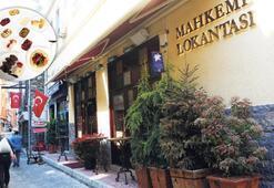"""Karaköy'ün """"Mahkeme"""" sofrası"""