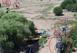 Drone ile havadan tespit ediliyor Şok görüntü…