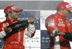 Bahreyn'de zafer Massa farkı