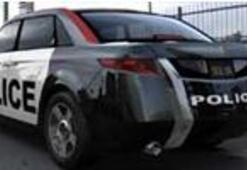 Dünyanın polislere özel ilk otomobili..