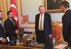 TPFD, Cumhurbaşkanı Erdoğan ve Meclis Başkanı Yıldırımı ziyaret etti