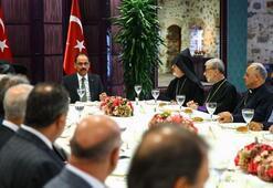 Cumhurbaşkanlığı Sözcüsü Kalın azınlık cemaatleri ile bir araya geldi