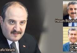 Bakan Varank'ın 'A Takımı' belli oldu
