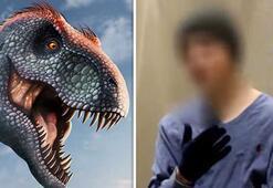 Mor dinozorları görmek için zamanda yolculuk yaptığını iddia etti