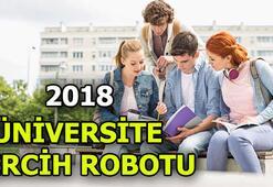 Üniversite tercihleri nasıl yapılır  2018 YKS tercih robotu (YÖK Atlas)