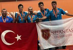 Türkiyeye masa tenisinde büyük gurur