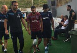 Trabzonspor antrenmanında şok sakatlık