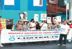 'Ölmemek için greve'