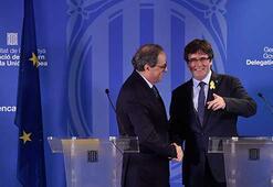 Puigdemont gözaltına alındığı Almanyadan Belçikaya geri döndü