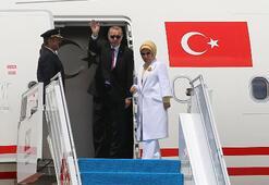 Cumhurbaşkanı Erdoğan Zambiyaya gitti