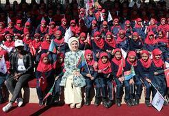 Emine Erdoğan, Güney Afrikada Maarif Vakfı Ofisinin açılışını yaptı